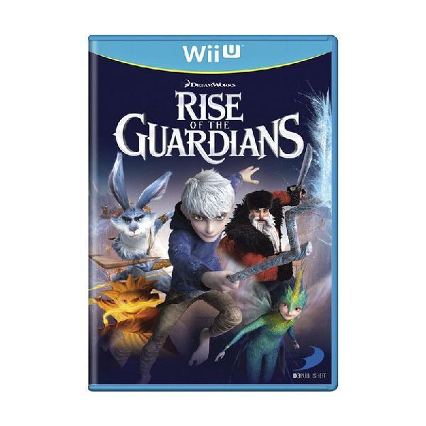 Jogo dreamworks: rise of the guardians - wii u
