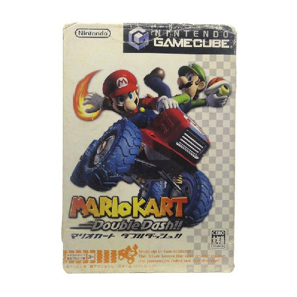 Jogo mario kart: double dash!! - gamecube (japonês)