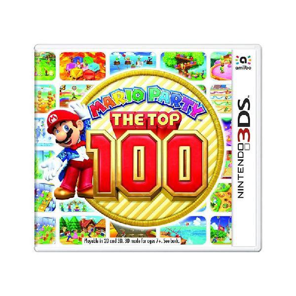 Jogo mario party: the top 100 - 3ds