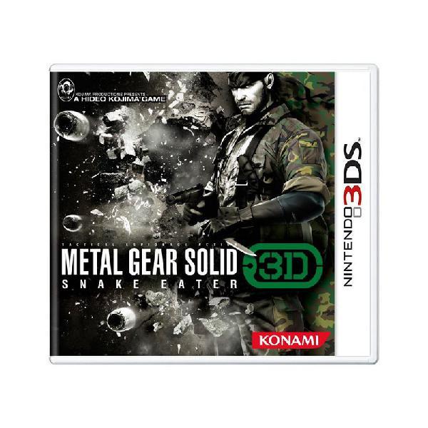 Jogo metal gear solid: snake eater 3d - 3ds