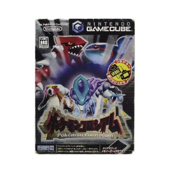 Jogo pokemon colosseum - gamecube (japonês)