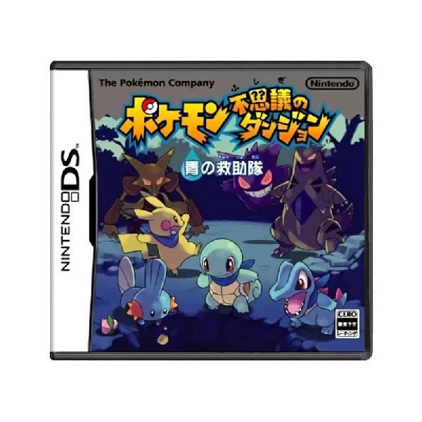 Jogo pokémon mystery dungeon: blue rescue team - ds