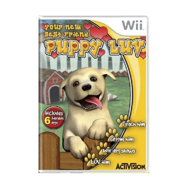 Jogo puppy luv - wii