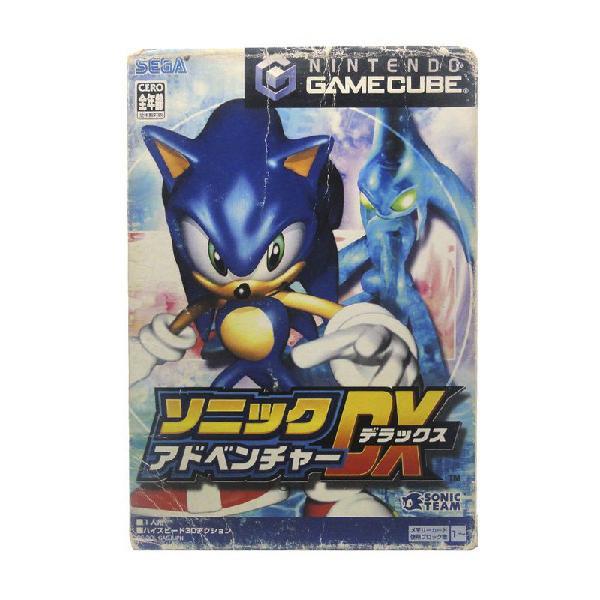 Jogo sonic adventure dx - gamecube (japonês)