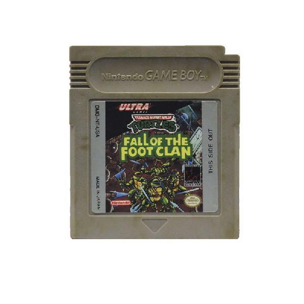 Jogo teenage mutant ninja turtles: fall of the foot clan -