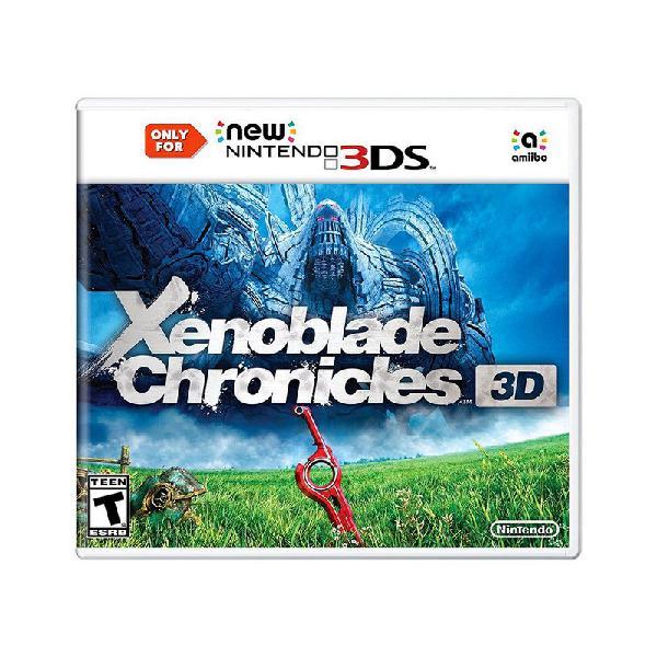 Jogo xenoblade chronicles 3d - new nintendo 3ds