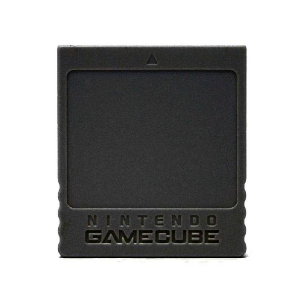 Memory card original preto nintendo gamecube - gc