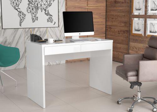 Mesa de computador boreal branco