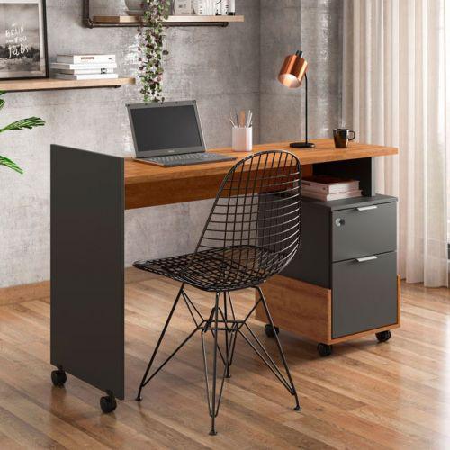 Mesa de computador dunas am/u00eandoa chumbo