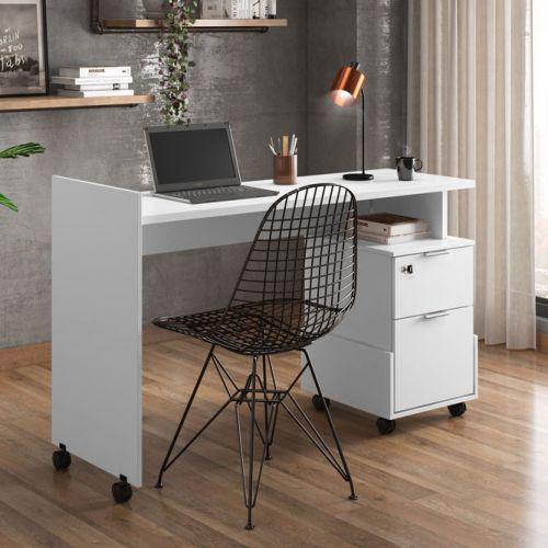 Mesa de computador dunas branco