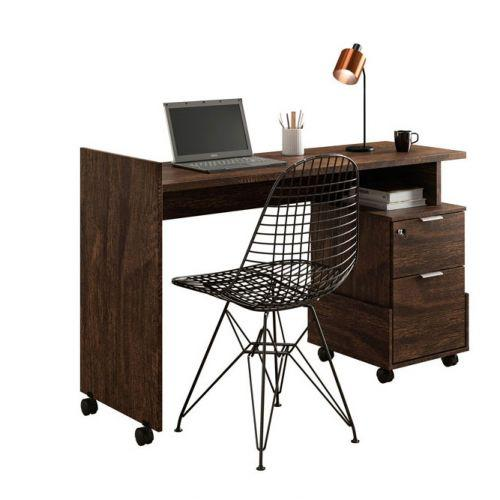 Mesa de computador dunas noce