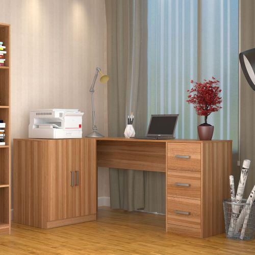 Mesa escrivaninha l appunto kit1000 office plus 2 portas 3