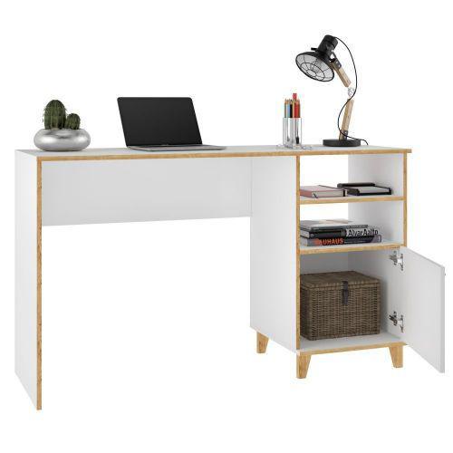 Mesa escrivaninha para computador notebook 01 porta dara
