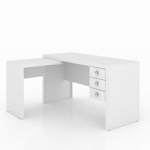 Mesa office branca - tecno mobili