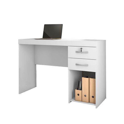 Mesa para computador com chave sara branca