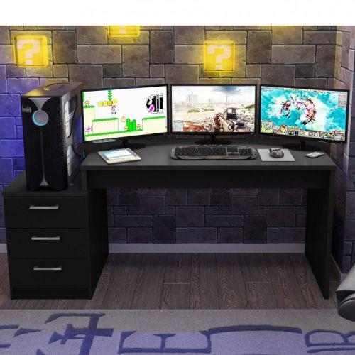 Mesa para computador desk gamer drx 6000 siena m/u00f3veis