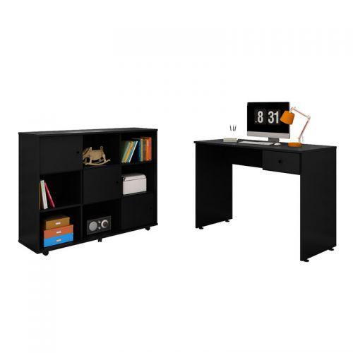 Mesa para computador escrivaninha dubai e nicho multiuso