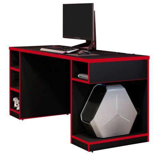 Mesa para computador notebook pc gamer destiny preto