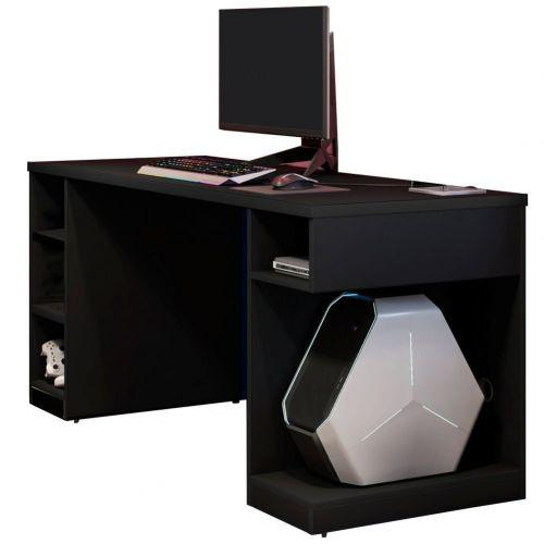 Mesa Para Computador Notebook PC Gamer Destiny Preto - Lyam