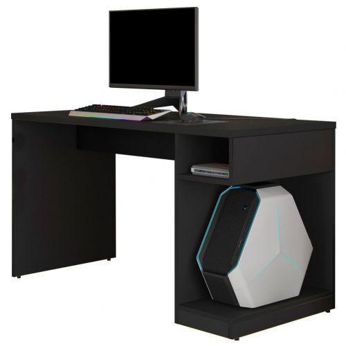 Mesa para computador notebook pc gamer legend preto - lyam