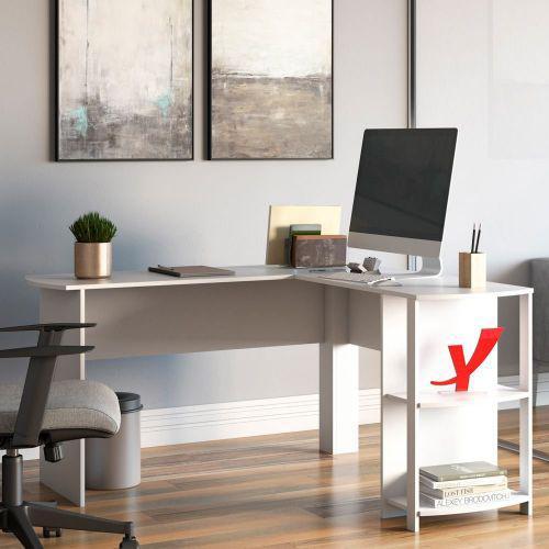 Mesa para escrit/u00f3rio escrivaninha home office luma