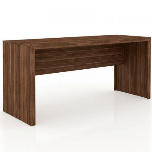 Mesa para home office de 163 cm de largura me4109 nogal 13