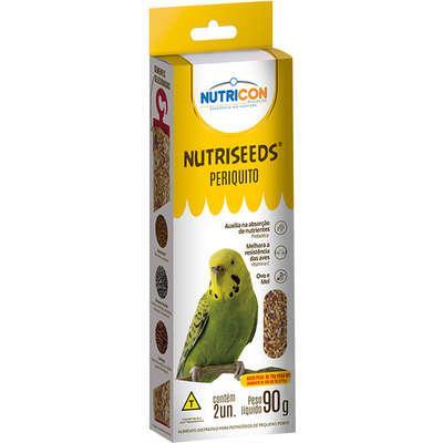 Mistura de sementes nutricon nutriseeds para periquito