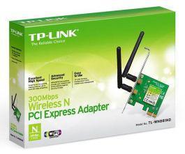 Placa pci express tp-link wireless n 2 antenas 300mbps