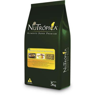 Ração nutrópica farinhada à base de mel e ovos - 5 kg