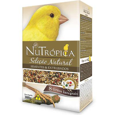 Ração nutrópica seleção natural canário