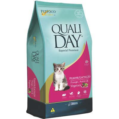 Ração qualiday especial premium cat filhote lactação