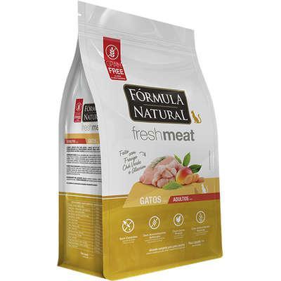 Ração seca fórmula natural fresh meat frango para gatos