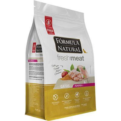 Ração seca fórmula natural fresh meat gatos filhotes