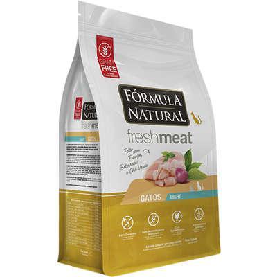 Ração seca fórmula natural fresh meat light para gatos