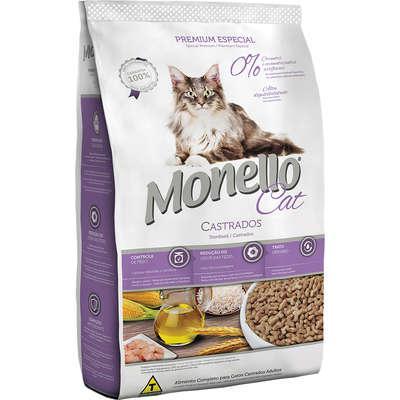 Ração seca nutrire monello cat para gatos adultos
