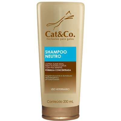 Shampoo cat & co. neutro baby - 200 ml