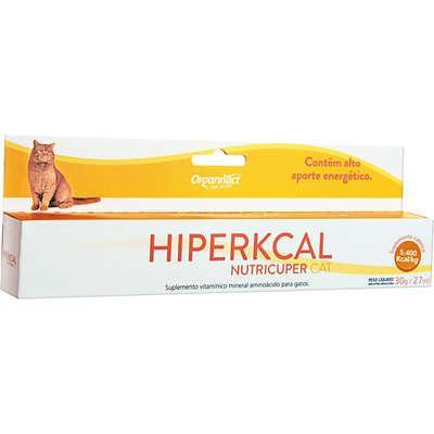Suplemento organnact hiperkcal nutricuper cat - 27 ml