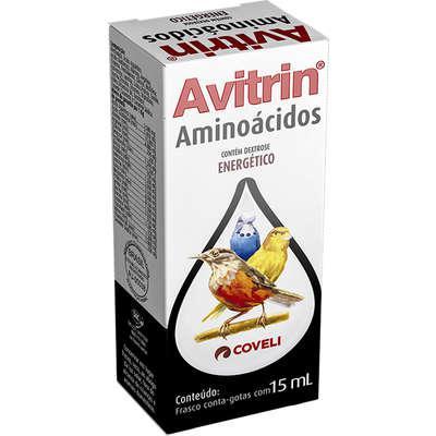 Suplemento vitamínico coveli avitrin aminoácidos para