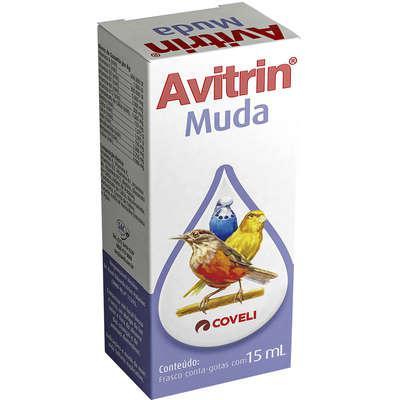 Suplemento vitamínico coveli avitrin muda para pássaros e