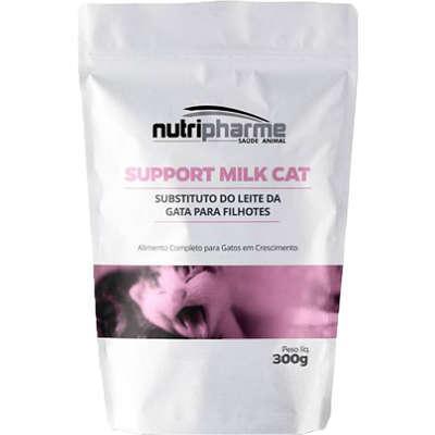 Suplemento vitamínico nutripharme support milk cat para