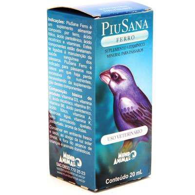 Suplemento vitamínico piusana ferro - 20 ml