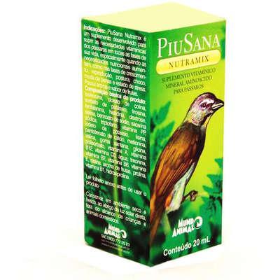 Suplemento vitamínico piusana nutramix - 20 ml