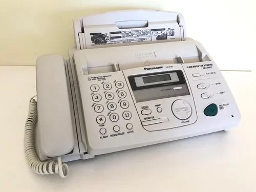 Telefone fax copiadora kx fp151 panasonic funcionando