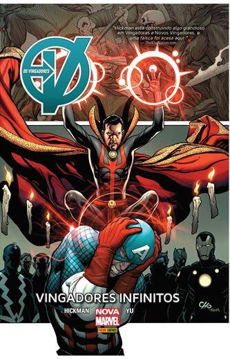 Vingadores: Vingadores Infinitos   Nova Marvel Deluxe