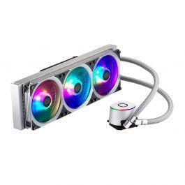 Water cooler cooler master masterliquid ml360p rgb silver