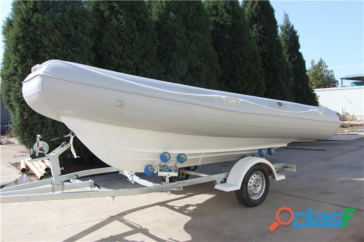 Barco Inflável PVC c/ Reboque Importado p/ Consumidor Final