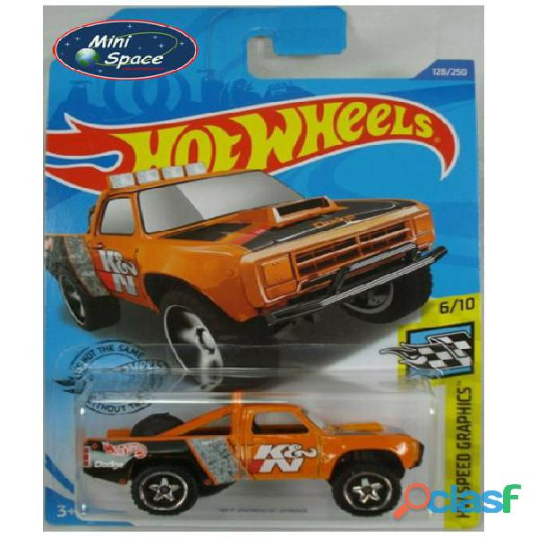 Hot Wheels 1987 Dodge D100 Pickup 1/64 1