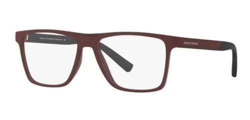 Armação oculos grau armani exchange ax3055 8274 55 bordo