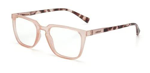 Armação oculos grau colcci ada c6103b7452 rosa translucido