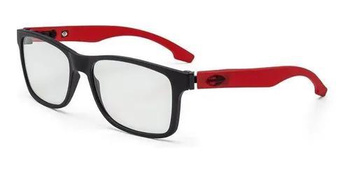 Armação oculos grau mormaii califa m6047a8556 preto fosco